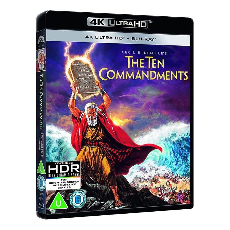 Die zehn Gebote (1956) auf 4K UHD (inkl. Blu-ray) für 19,07€