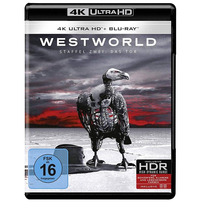 Westworld – die komplette zweite Staffel auf 4K UHD (inkl. Blu-ray) für 21,99€