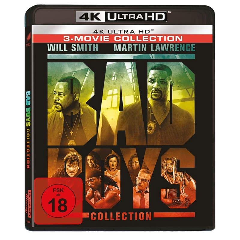 Bad Boys 1-3 4K Collection für 25,97€