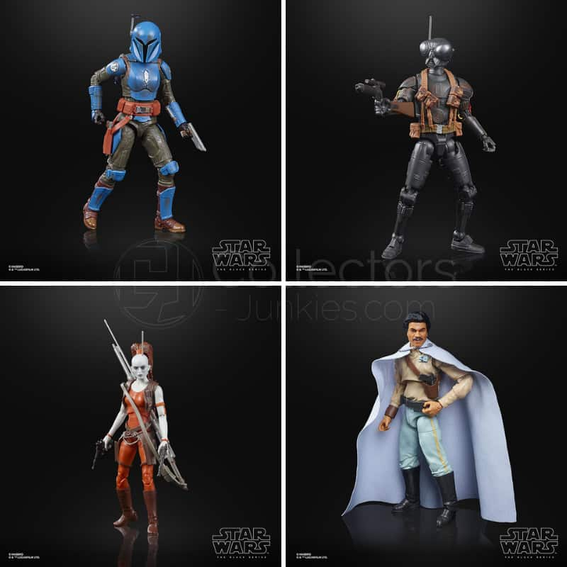 Hasbro Star Wars: The Black Series – 5 neue 6 Inch Figuren | ab August 2021