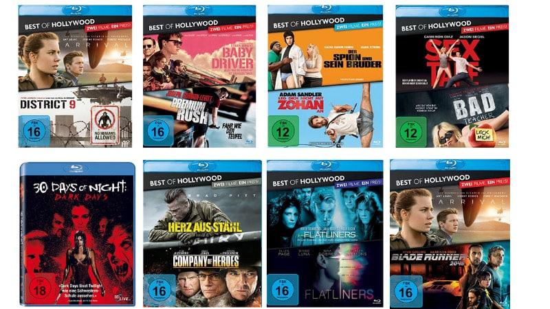 Blu-rays und DVDs reduziert – Auswahl aus über 500 Titeln
