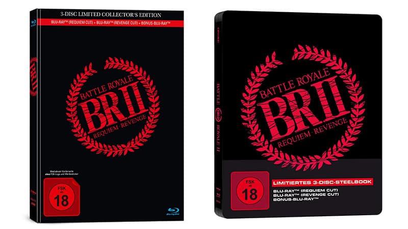 Battle Royale 2 – Steelbook Edition und Mediabook Edition (Blu-ray) für je 11,97€