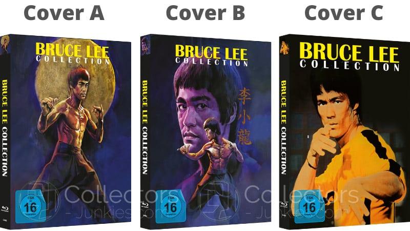 """Bruce Lee 4- Film Collection"" erscheint in 3 Blu-ray Mediabooks   ab 2021"