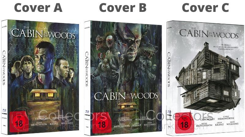 """The Cabin in the Woods"" erscheint in 3 4K UHD Mediabooks   ab 2021"