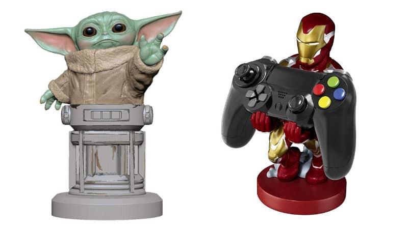 """Cable Guy Figuren """"New Iron Man"""" für 12,33€ und """"Baby Yoda"""" für 12,49€"""