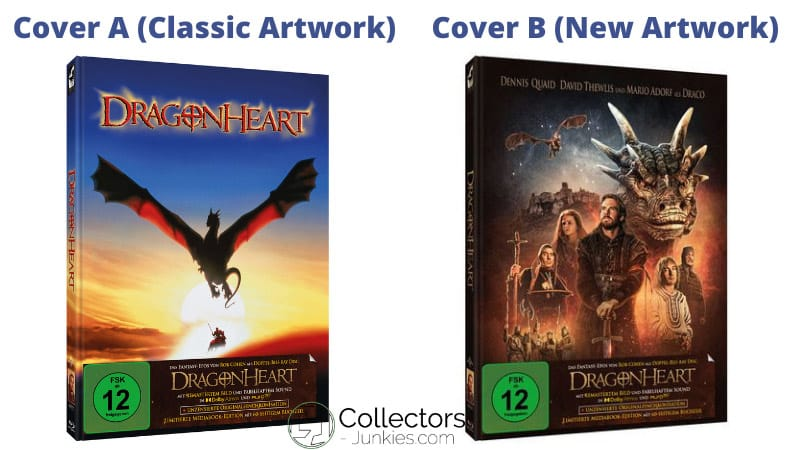 """Dragonheart"" Remastered in 2 Blu-ray Mediabooks mit Dolby Atmos und Auro-3D 