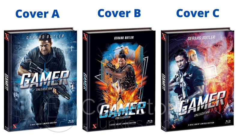 """Gamer"" erscheint in 3 Blu-ray Mediabooks | ab Mai 2021"