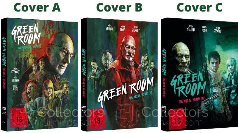"""Green Room (2016)"" erscheint in 3 Blu-ray Mediabooks | ab 2021"