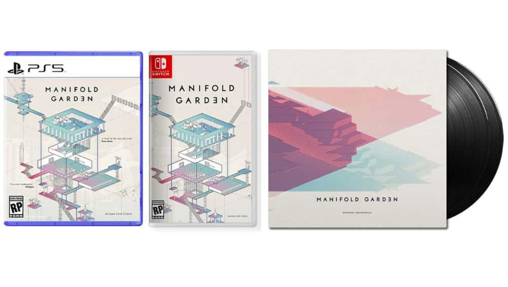 """""""Manifold Garden"""" für die Playstation 5 und Nintendo Switch sowie Soundtrack auf Vinyl"""