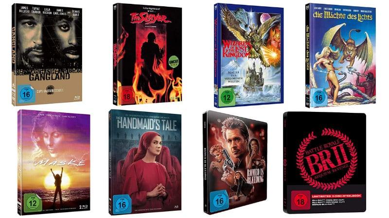 Einige Blu-ray Mediabooks und Steelbooks für je 12,99€