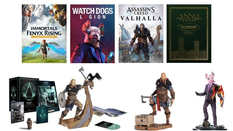 Legendary Sale mit 20% Rabatt im Ubi Store – unter anderem: Assassin's Creed Valhalla Standard Variante (PS5 , PS4, Xbox) für 41,99€