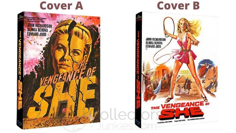 "Fantasy-Abenteuer ""Vengeance of She"" ab Mai 2021 in 2 Blu-ray Mediabooks"