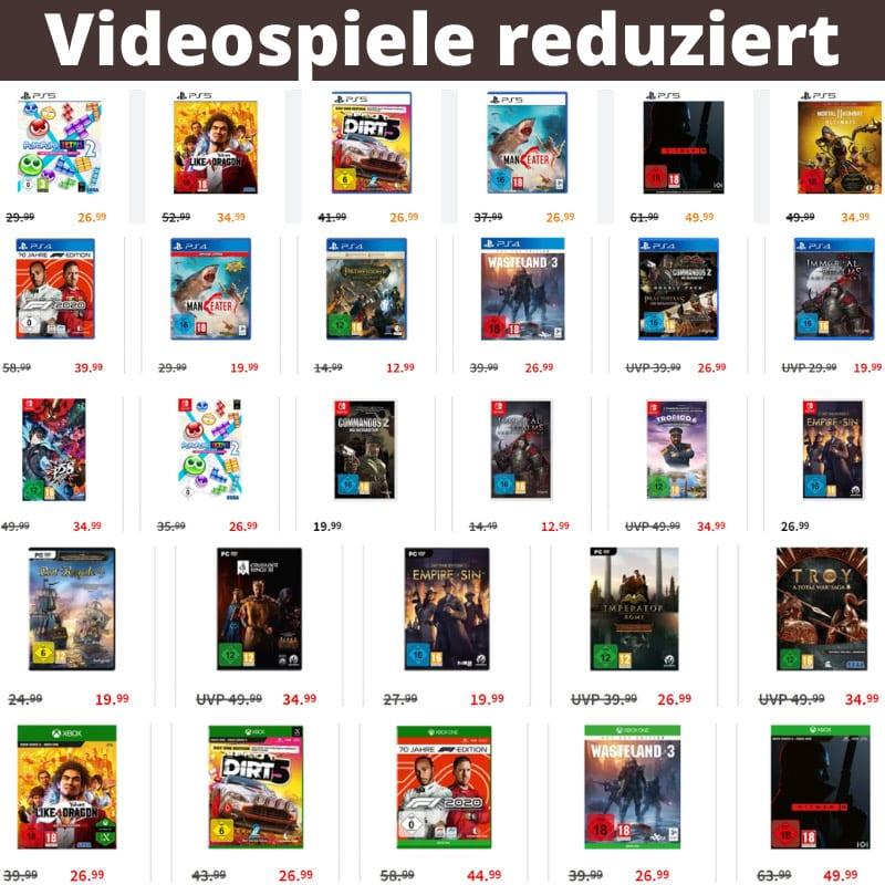 Reduzierte Videospiele bei MediaMarkt, Saturn & Amazon – unter anderem: Persona 5 Strikers für 34,99€ | Commandos 2 – HD Remaster für 19,99€