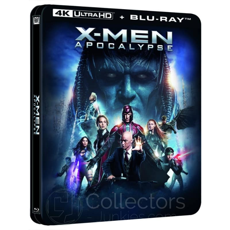 """""""X-Men : Apocalypse"""" erscheint im 4K- und Blu-ray Lenticular Steelbook (England)"""