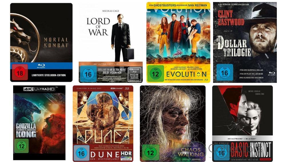 12% Rabatt auf Filme, Spielwaren, Hörbücher und Hörbuch-Downloads bei Buecher – unter anderem mit: Die Dollar Trilogie im Mediabook für 24,63€
