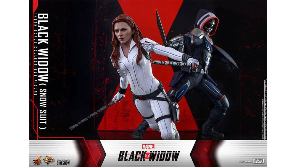 """""""Black Widow Snow Suit Version"""" und """"Taskmaster"""" 1/6 Actionfiguren von Hot Toys"""