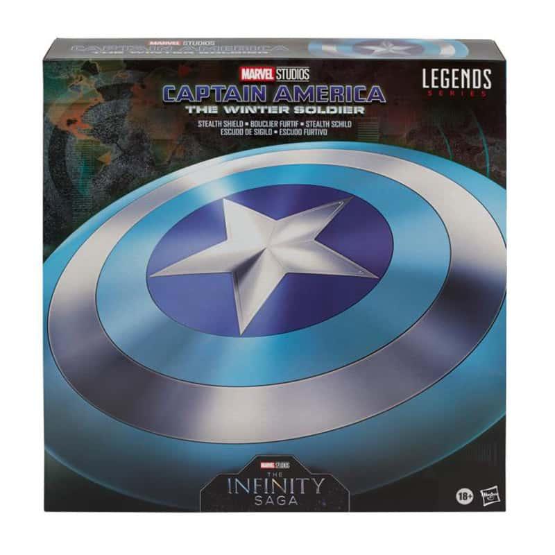 Captain America: The Winter Soldier – Stealth Schild als 1/1 Replik von Hasbro