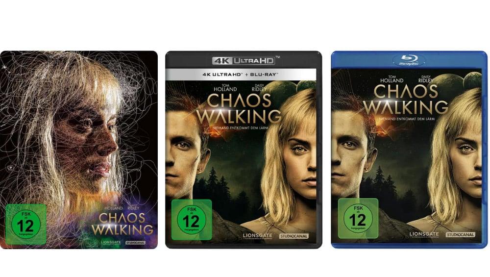 """""""Chaos Walking"""" ab Oktober im 4K Steelbook sowie als Standard Varianten – Update2"""