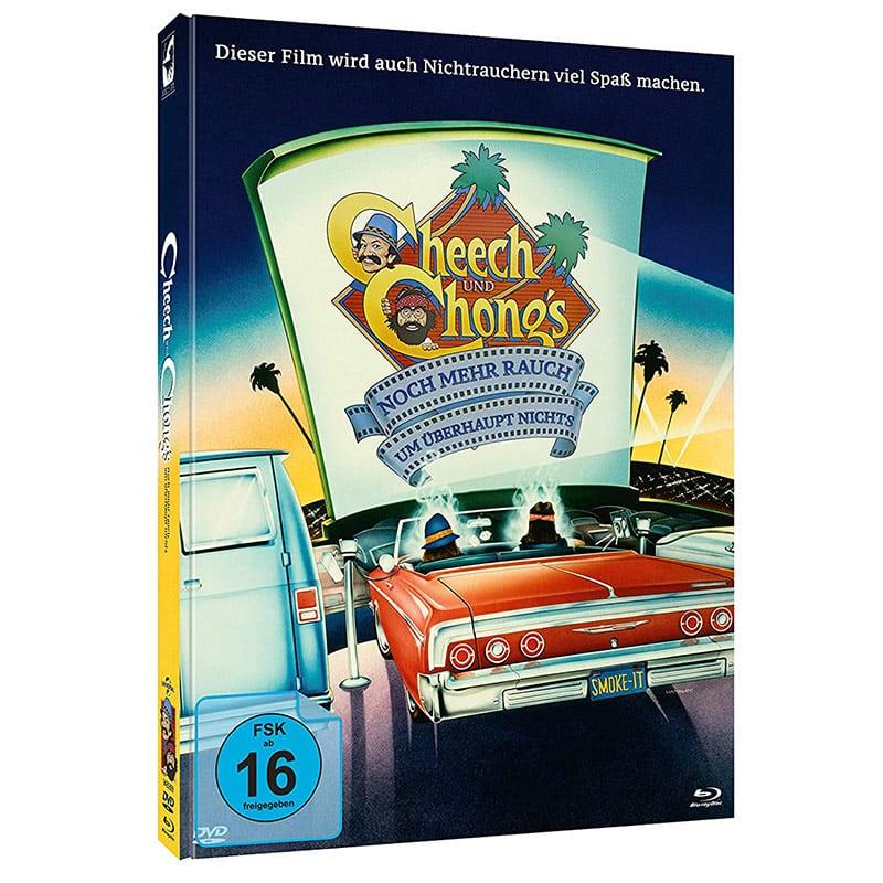 """""""Cheech & Chong – Noch mehr Rauch um überhaupt nichts & Jetzt hat´s sich ausgeraucht"""" im Blu-ray Mediabook für 18,71€"""