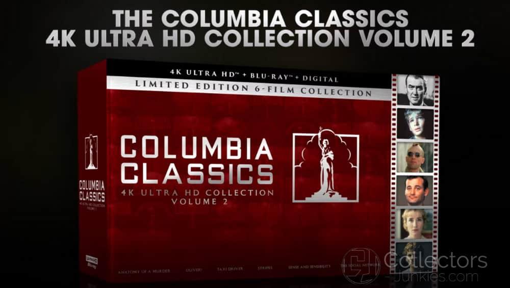 Columbia Classics Volume 2 – 4K Ultra HD Collection erscheint im September
