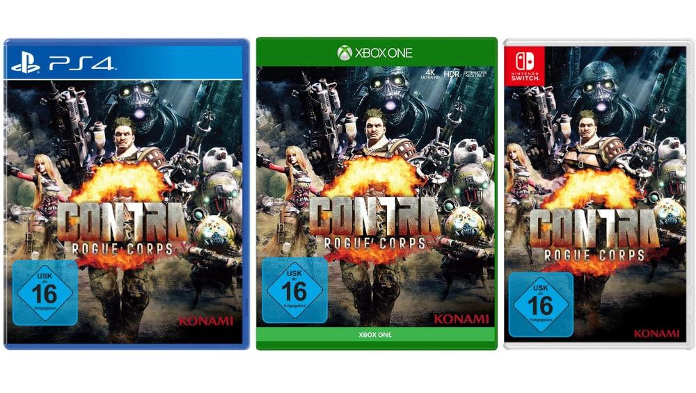 Contra: Rogue Corps für Playstation 4 für 12,30€, Xbox One für 14,99€ und Nintendo Switch für 19,99€