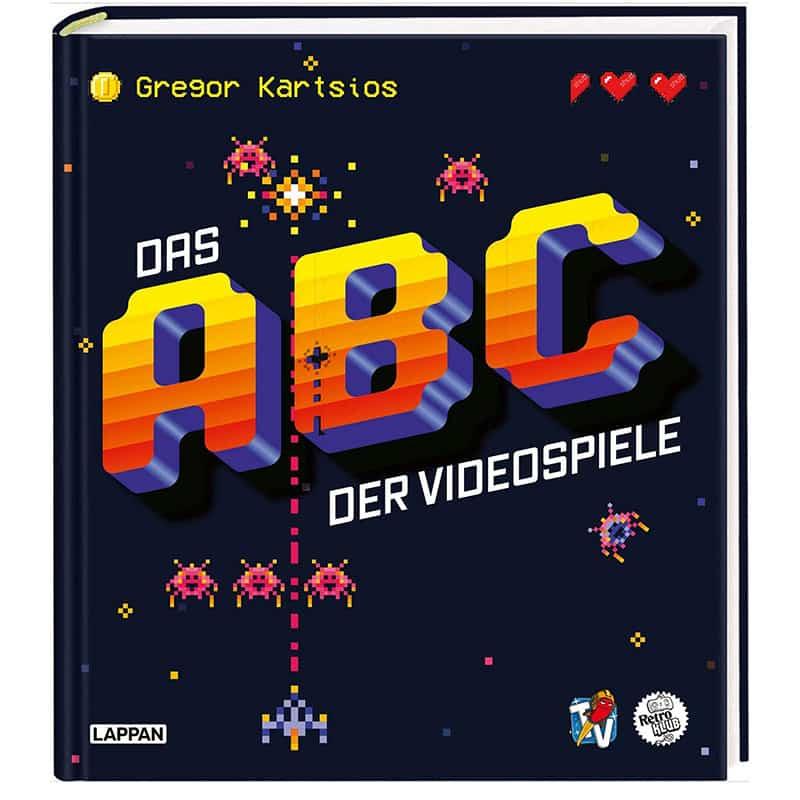 """""""Das ABC der Videospiele: Alles, was Gamer über Videospielgeschichte wissen müssen"""" in der gebundenen Ausgabe   ab Oktober 2021"""