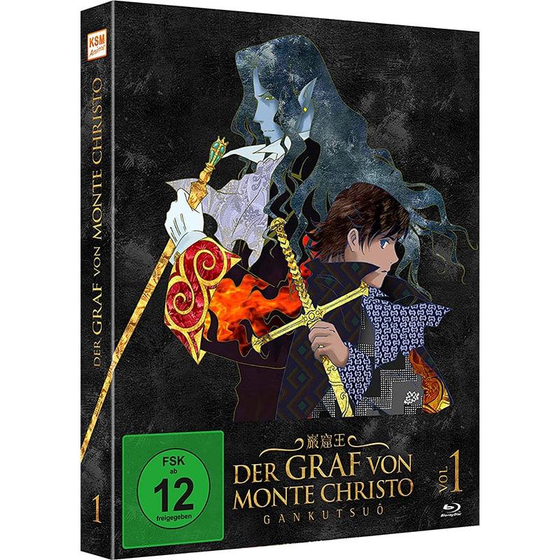 """""""Der Graf von Monte Christo – Gankutsuô"""" erstes Volume ab August 2021 auf Blu-ray und DVD"""