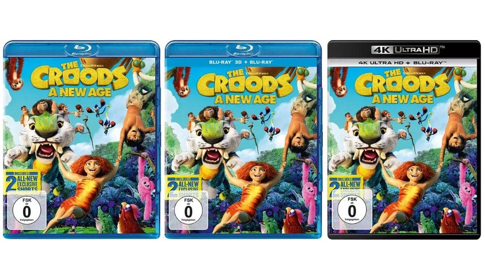 """""""Die Croods – Alles auf Anfang"""" ab November auf 4K UHD, in 3D sowie auf Blu-ray und DVD – Update2"""