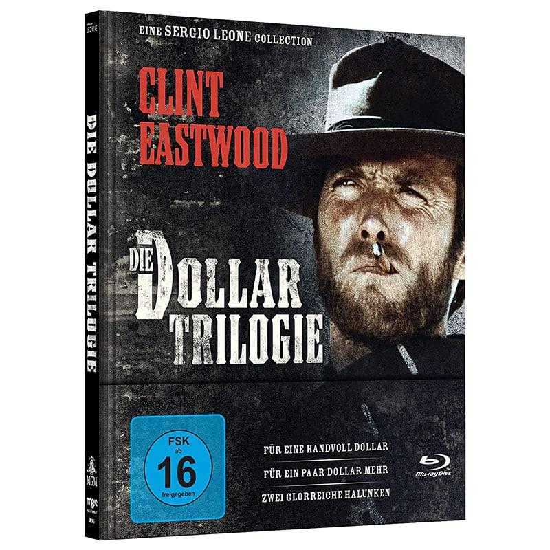 """""""Die Dollar Trilogie"""" im Blu-ray Mediabook für 26,09€"""
