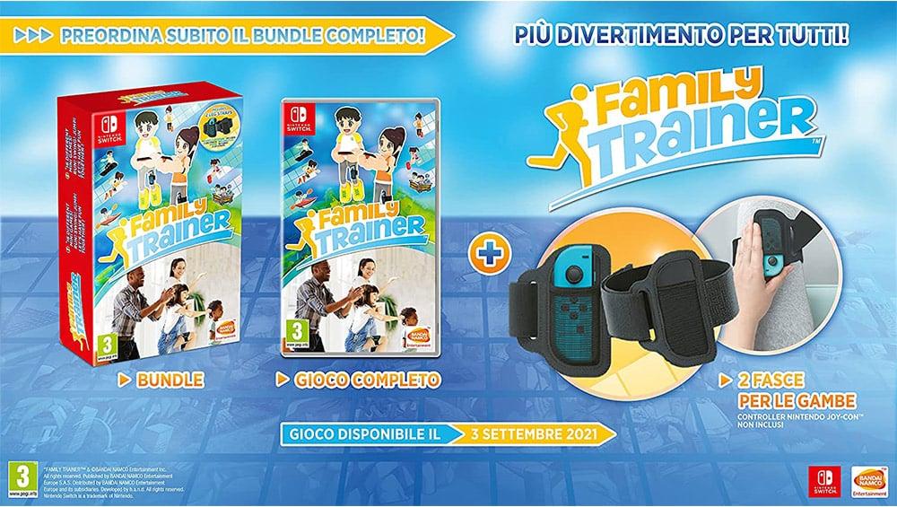 """""""Family Trainer (inkl. Beingurte)"""" für die Nintendo Switch für 59,99€"""