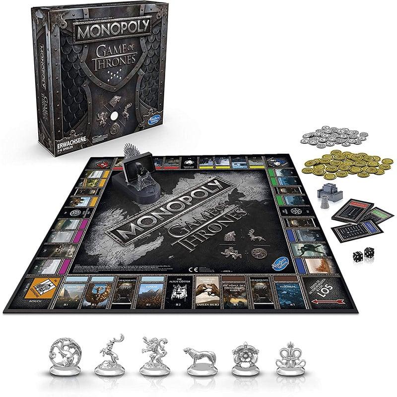 [Angebot Prime] Hasbro Gaming Monopoly Game of Thrones (deutsche Version) für 24,99€