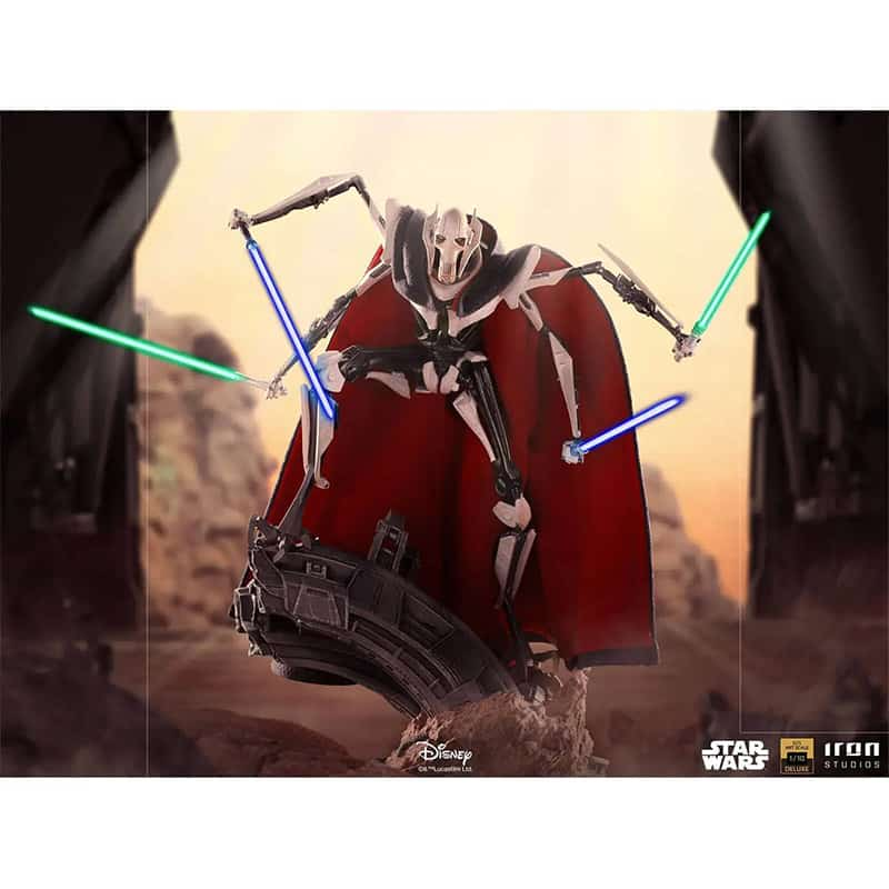 Star Wars: General Grievous 1/10 BDS Art Scale Statue von Iron Studios