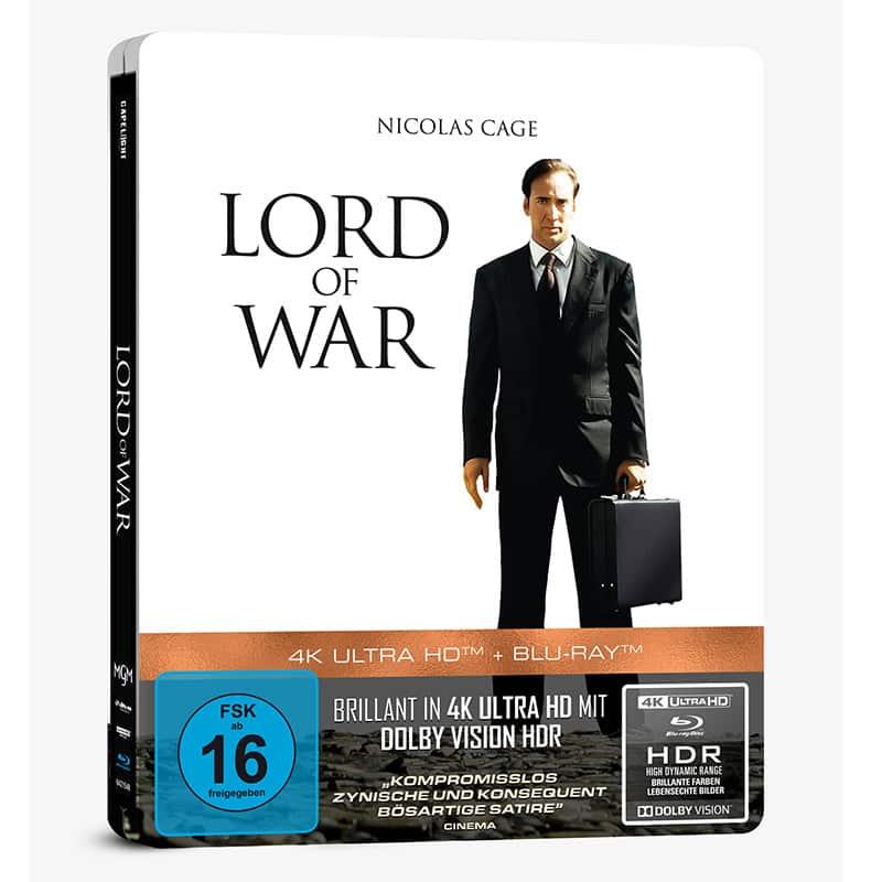 """""""Lord of War – Händler des Todes"""" im 4K Steelbook (inkl. Blu-ray) für 25,49€"""