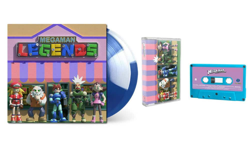 """Mega Man Legends"" Original Soundtrack auf Vinyl und als Musikkassette (Tape)"