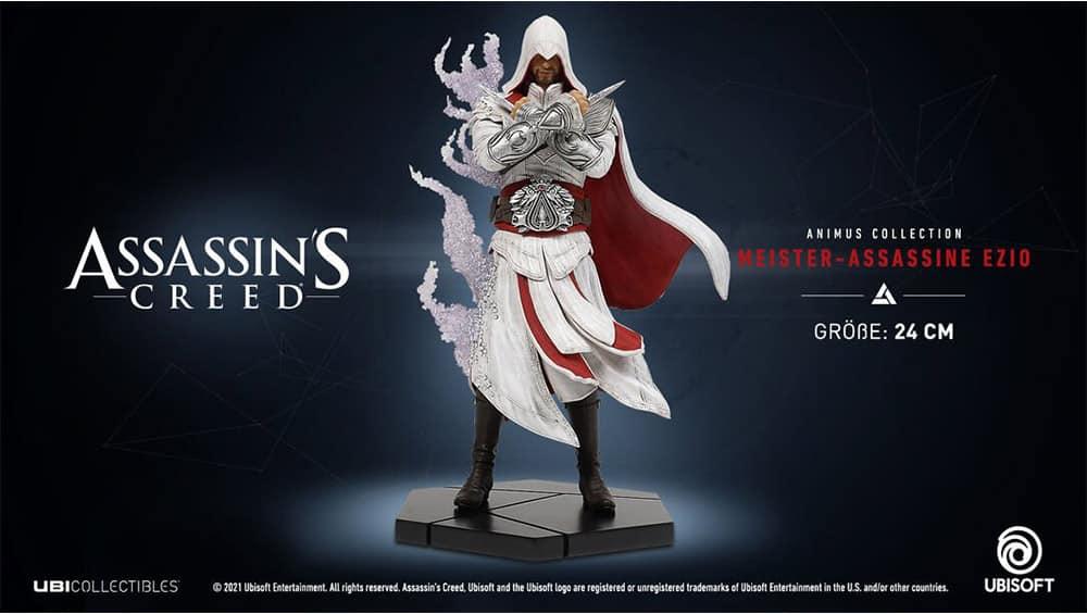 Assassin's Creed: Meister-Assassine Ezio Statue (Ubi Collectibles   Animus Collection)