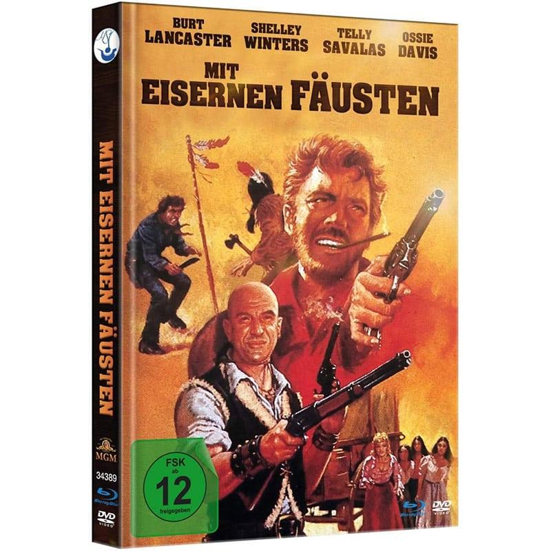 Mit eisernen Fäusten im Blu-ray Mediabook (inkl. DVD) für 13,99€