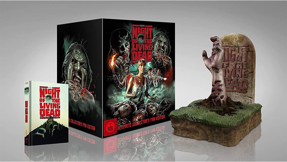 """""""Night of the Living Dead (1990)"""" in der Ultimate Collectors Fan Edition für 130,61€"""