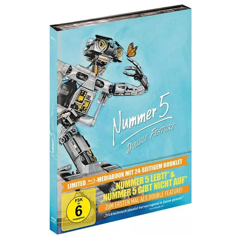"""Nummer 5 Double Feature"" ab August 2021 im Blu-ray Mediabook & Keep Case im November | Update2"