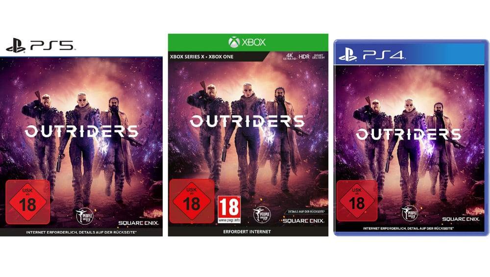 [Angebot Prime] Outriders für die Playstation 5 für 32,79€, Xbox One/Series X für 47,60€ und PS4 für 33,61€