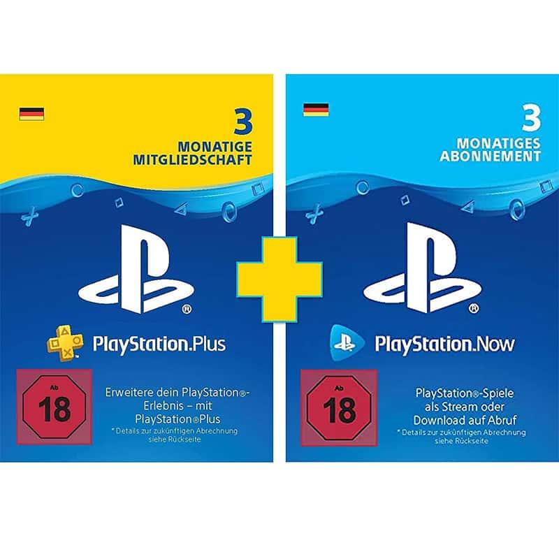 [Angebot Prime] PlayStation Plus + Now 3 Monate | PS4/PS5 Download-Code (deutsches Konto) für 34,99€