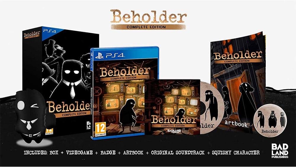 """""""Beholder Complete Edition"""" in der Collector's Edition für die Playstation 4 für 24,35€"""