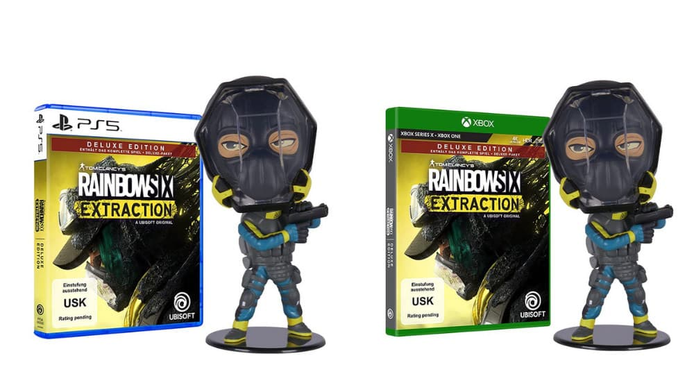 """Tom Clancy's Rainbow Six Extraction"" als Deluxe Edition und Standard Variante für die Playstation 4/5, Xbox One / Xbox Series X/S & PC   ab September 2021"