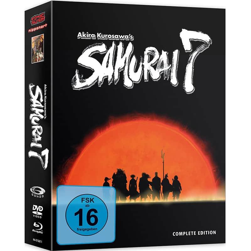 Samurai 7 – Gesamtausgabe auf Blu-ray (inkl. DVD) für 16,95€