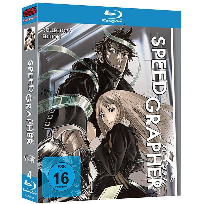 """""""Speed Grapher"""" Gesamtausgabe auf Blu-ray für 34,95€"""