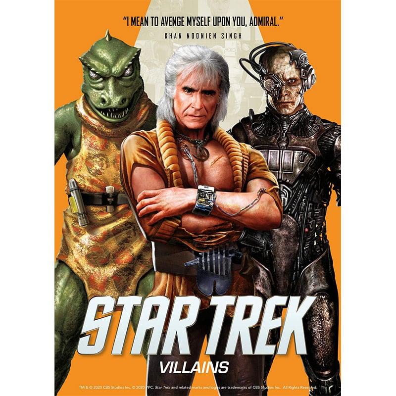 """""""Star Trek Villains"""" ab August 2021 als Taschenbuch"""