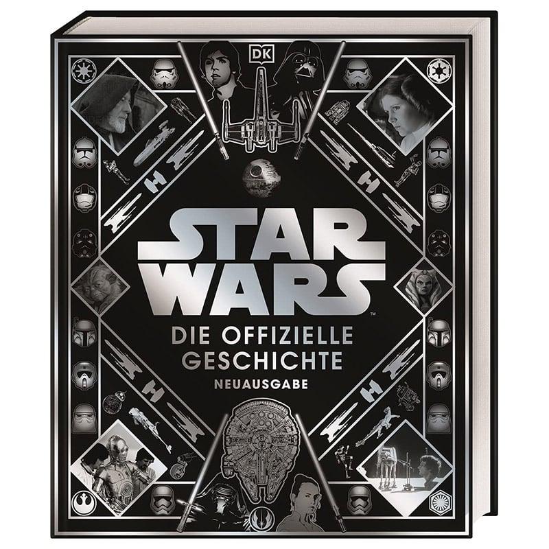 Star Wars – Die offizielle Geschichte in der Hardcover Neuausgabe | ab Oktober 2021