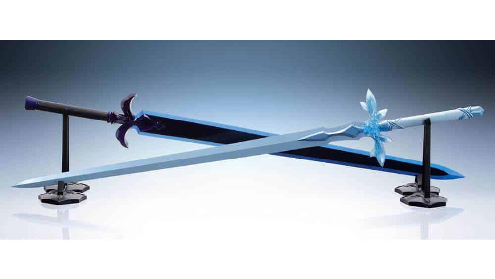 """Sword Art Online: """"Schwert von Blue Rose"""" und """"Night Sky Schwert"""" als 1/1 Replik von Tamashii Nations"""