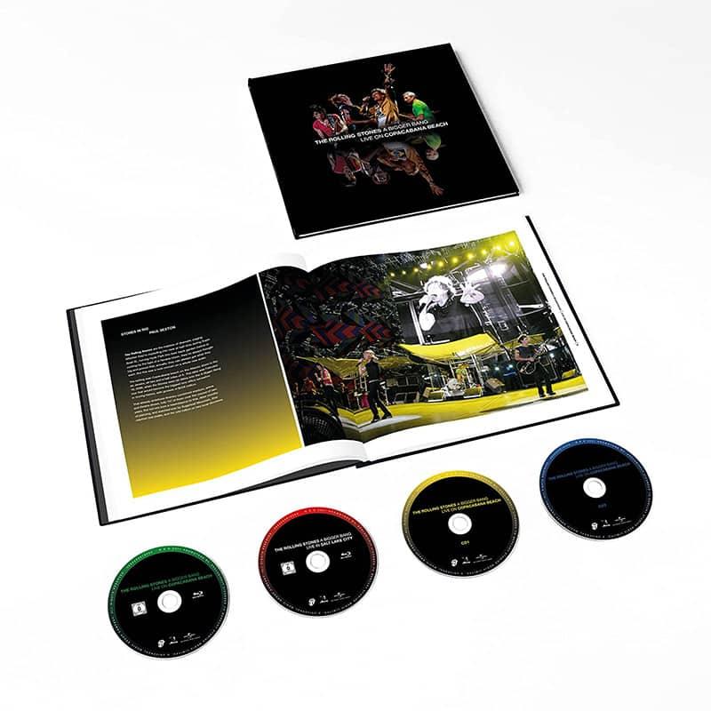 """""""The Rolling Stones A Bigger Bang: Live On Copacabana Beach 2006"""" ab Juli 2021 in verschiedenen Varianten"""
