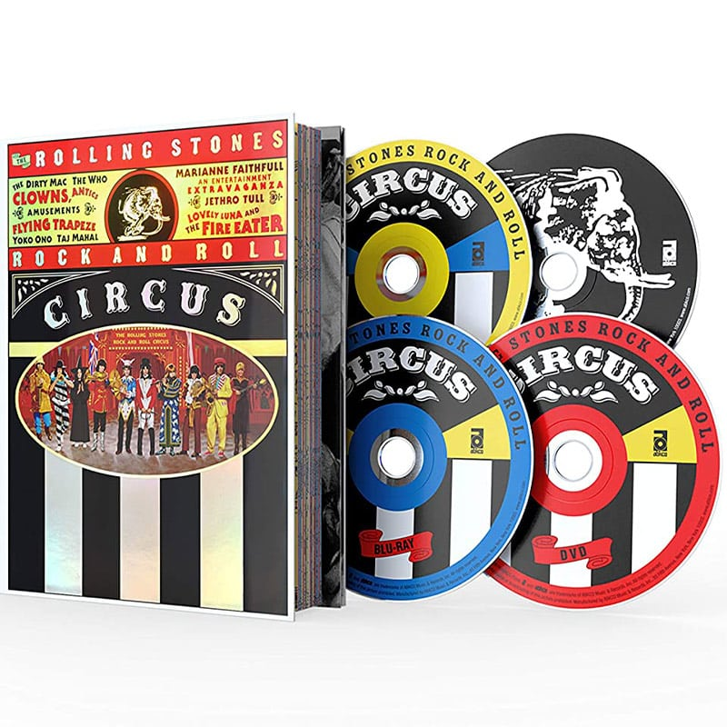 The Rolling Stones Rock and Roll Circus in der Limited Deluxe Edition (Blu-ray + DVD + 2 CDs) für 45,83€