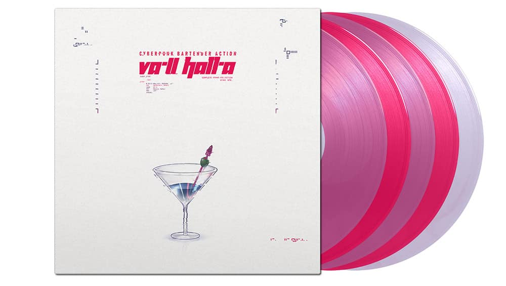 VA-11 HALL-A: Complete Sound Collection in 2 Vinyl Sets